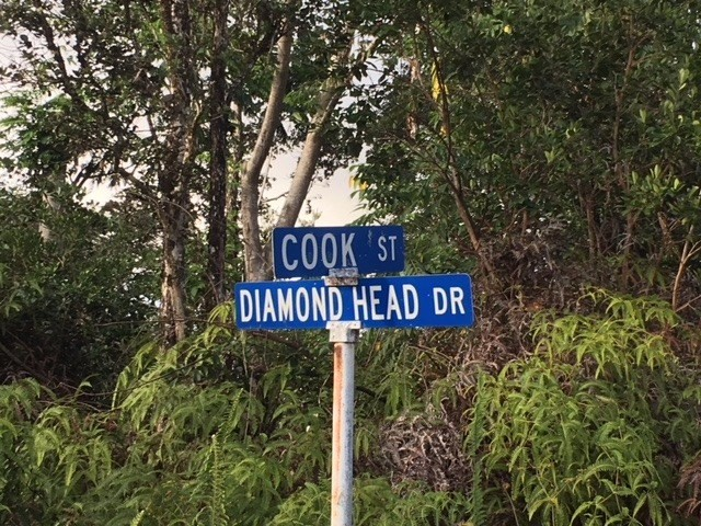 Located at corner of Cook and Diamond Head